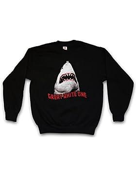 White Shark II Sweatshirt – Tiburón Jaquetón Película Diver Tamaños Hawaii Maui Australia Attack Giant Monster...
