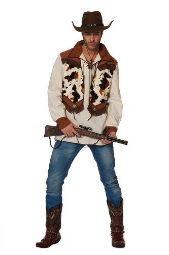 Wilbers - Costume di carnevale, motivo: Ringo il Cowboy, 38 cm