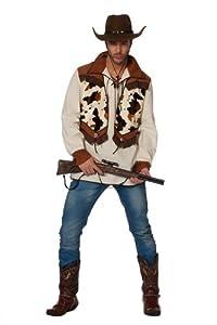 Stekarneval - Disfraz de cowboy para hombre, talla UK 38 (555348)