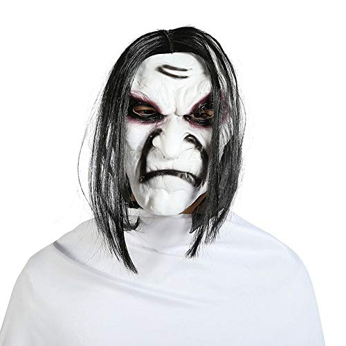 The Grudge Kostüm - WSJDE Halloween Zombie Maske Requisiten Grudge