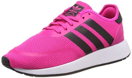 Adidas N-5923 J Scarpe da ginnastica Unisex bambini, Rosa (Shock Pink/Core Black/Ftwr White Shock Pink/Core Black/Ftwr White), 36 EU