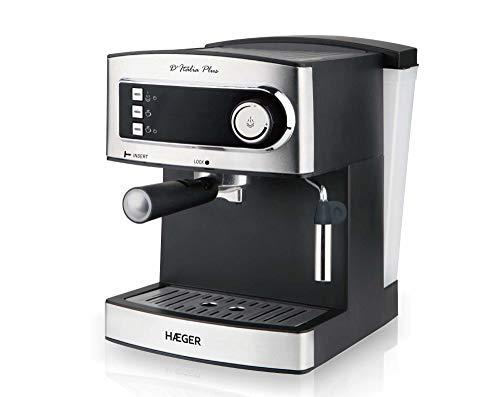 Haeger CM-85B.006A - Cafetera (Independiente, Cafetera de filtro, 1,6 L, De café molido, 850 W, Negro)