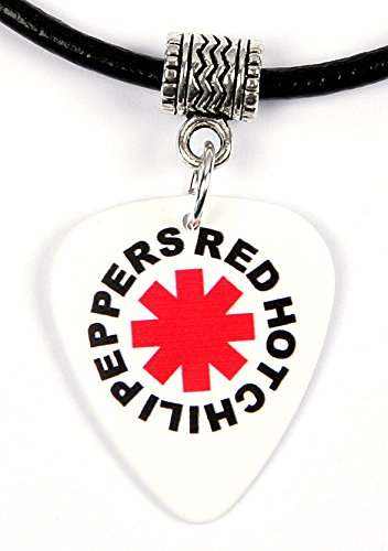 red-hot-chili-peppers-white-logo-guitar-pick-plectrum-necklace