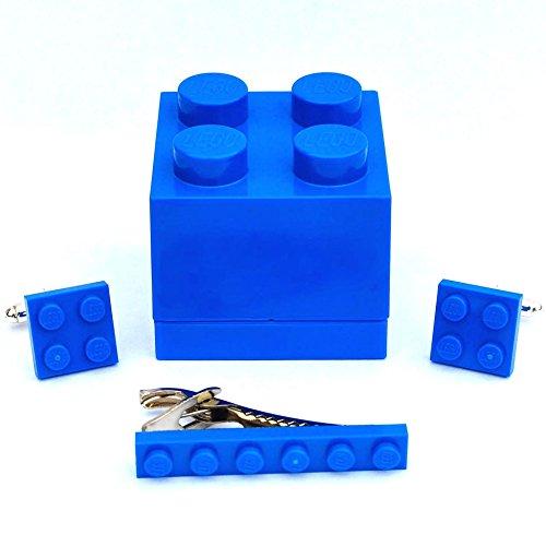LEGO® ladrillo Gemelos corbata Slide azul hombre