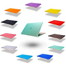 Élégant et léger ultra mince protection douille Housse Etui Housse de protection dur portable affaire sac coquille dure housse pour Apple MacBook Pro 15,4 pouces (numéro de modèle:A1286) en Vert (Ne convient pas pour les MacBook Pro avec Retina Display)