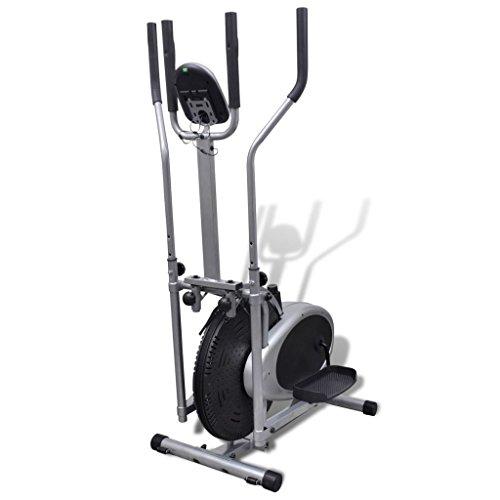vidaXL Heimtrainer Ergometer Fitness Stepper Walking Ellipsentrainer - 3
