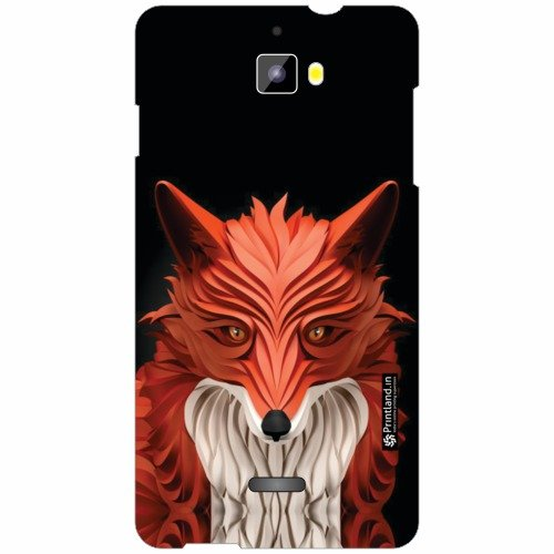 Micromax Canvas Nitro A311 Back Cover - Silicon Animal Print Designer Cases