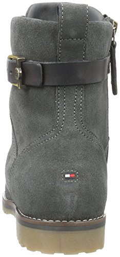 Tommy Hilfiger W1285endy 10b, Bottes Classiques femme Gris - Grau (MAGNET 916)