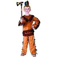 Dress Up America 751-M - Costume Guerriero Indiano, 8-10 Anni, Multicolore