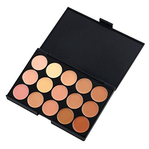 Vococal® Correcteur de 15 couleurs Palette poudre Fondation Palette de maquillage