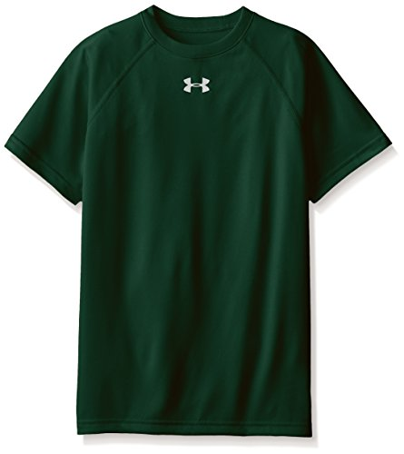 Under Armour – Maglietta Locker a maniche corte Forest Green/White