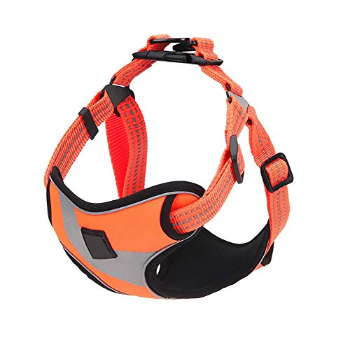 Dog Chest Strap Harness for Small or Medium Dogs Simple Reflection Adjustable Straps Carriage Ropes Light and Soft Weight
