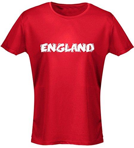 swagwear England Funky Font Football Womens T-Shirt 8 Colours (8-20)