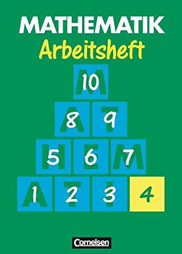 Mathematik Förderschule - Arbeitshefte / Heft 4, 1. Auflage Nachdruck 2001