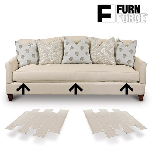 Hasëndad Furn Force - Paneles para Sofá, Blanco, 48 x 10.5 x...
