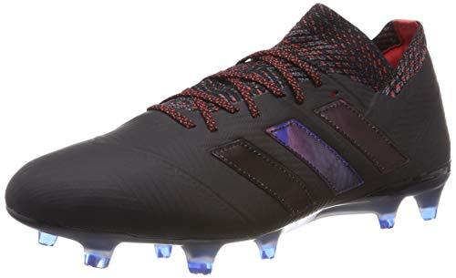 adidas Herren NEMEZIZ 18.1 FG Fußballschuhe Schwarz (Core Black/Football Blue), 44 - Football Schuhe Adidas