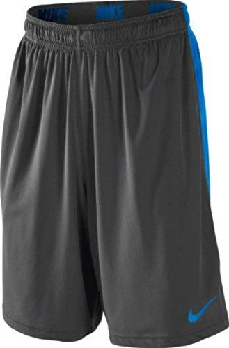 Nike Air Max 90Mesh (GS) Chaussures de sport pour enfants, jeunes filles Gris - Anthracite/bleu