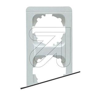 EGB Elegant Standard 2-fach Rahmen mit Clip-Paar reinw