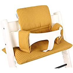 Coussin chaise haute Stokke Tripp Trapp Set ♥ Ocre jaune