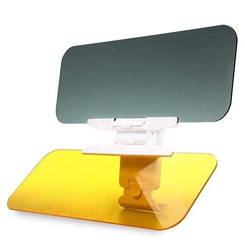 Auto Sonnenschutz Visier Verlängerung, Auto Blendschutz fahren HD Visier, monojoy Tag und Nacht Vision Eye Displayschutzfolie Blendfreie UV zudem blendfrei. Windschutzscheibe Extender