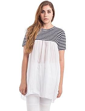 [Sponsorizzato]Abbino 89327-2 Vestiti Donne Ragazze - Made in Italy - 1 Colore - Transizione Primavera Estate Autunno Uni Signore...