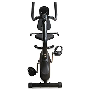 XS Sports Magnetic Recumbent Seated Exercise Bike-Fitness Cardio Weightloss Machine-With PC and Pulse Sensors by XS Sports