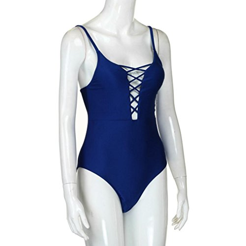 Ba Zha Swimwear -  Costume intero  - Donna Blue