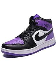 promo code 76234 46f6c YSZDM Chaussures de Basket-Ball, Baskets Homme résistant à l usure  antidérapante Haut