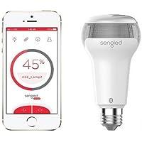 Novedad mundial. El sonido de su smartphone con calidad JBL a través de la lámpara con altavoz Pulse Solo de Sengled.