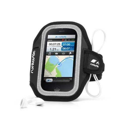 Runtastic Sports Armband for Mobiles Fascia Contenitore Braccio in Neoprene Porta Smartphone per iPhone, Samsung, BlackBerry, Nokia, HTC, LG, ecc.