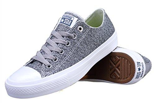 Converse Chuck Taylor All Star Ii Low Damen Sneaker Grau r0rVL4t71