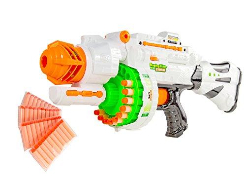 Nick and Ben Elektrisches Pfeil-Gewehr Dart Waffe Strike Soft-Air Soft-Pfeile Blaster Pfeil Maschinen-Gewehr automatisch Air-Soft Kinder-Spielzeug Pistole (Automatisches Maschinengewehr)
