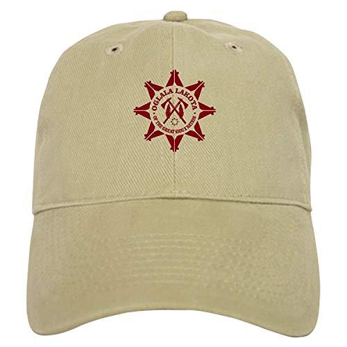 Oglala Lakota Baseball - Baseball Cap Adjustable Closure, Unique Printed Baseball Hat ()