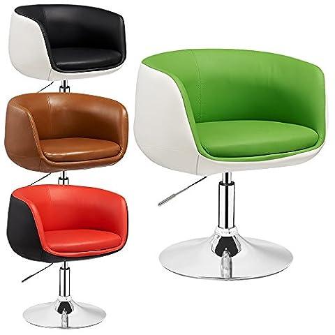 Lounge Sessel Herbert - 2 farbig - höhenverstellbar - Clubsessel