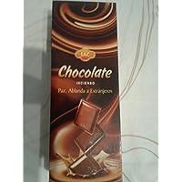 Preisvergleich für Bunt Sac Schokolade, 6er-Pack, 120Räucherstäbchen, Sechskant