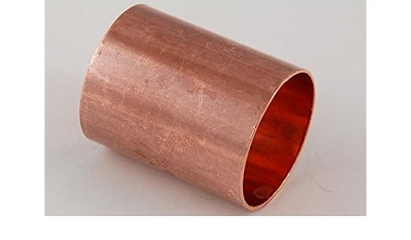 Kupfer Löt Muffe 42 mm Lötfitting für Kupferrohr Nr 5270 Neu L