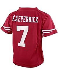 Nike Colin Kaepernick San Francisco 49ers NFL - Camiseta de Manga Corta  para el día del Juego a96f4490314