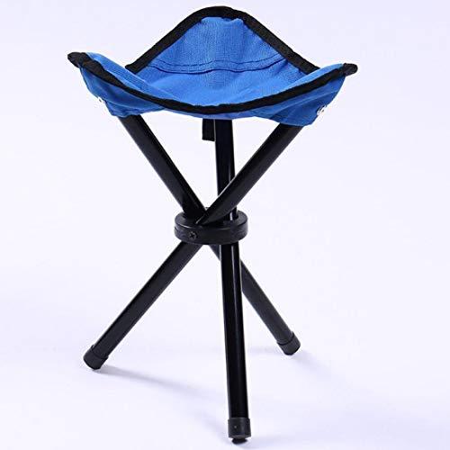 Stühle & Sofas Wandern Outdoor Camping Angeln Klappstuhl Tragbarer Dreieckstuhl Maximale Belastung 100 KG Klappstuhl Größe: 22 x 22 x 31 cm (Grün) (Farbe : Blue)