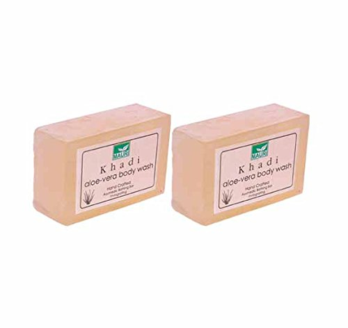 Khadi Mauri Aloe Vera Soap Pack of 2 Ayurvedic Herbal Natural  available at amazon for Rs.141