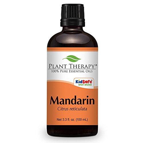 Mandarin Essential Oil. 100 ml (3.3 oz). 100% Pure, Undiluted, Therapeutic Grade