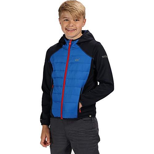 Regatta Kinder Kielder Iv Extol Stretch-Wasserabweisend, leicht, isoliert, Hybrid-Jacke XXL Navy/Oxford Blue - Navy Blue Jacke