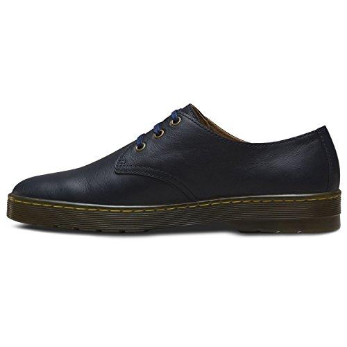 Dr.Martens Mens Coronado 3 Eyelet Leather Shoes Bleu