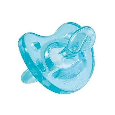 Chicco Chupete Phisio – Chupete todogoma, 6-16 meses, color azul