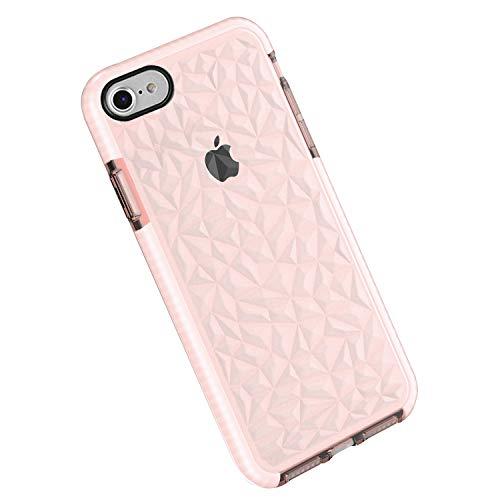 Funda iPhone 6 6s Plus, Carcasa Silicona Transparente Protector TPU Airbag...