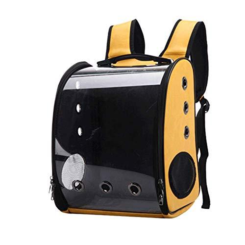 SNUA Pet käfig, tragbare atmungsaktive rucksack, katze und hund welpen reisen wandern camping pet rucksack 38 * 29 * 15,5 cm,Haustierrucksack -
