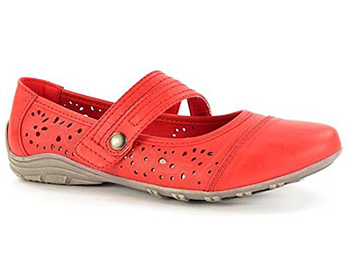 Foster Footwear , Mary Jane femme red