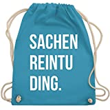 Festival Turnbeutel - Sachenreintuding - Unisize - Hellblau - WM110 - Turnbeutel & Gym Bag