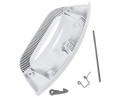 Lazer Electrics Plastic Door Handle Lever Kit for Hotpoint Futura Washing Machine/Washer Dryers (White)