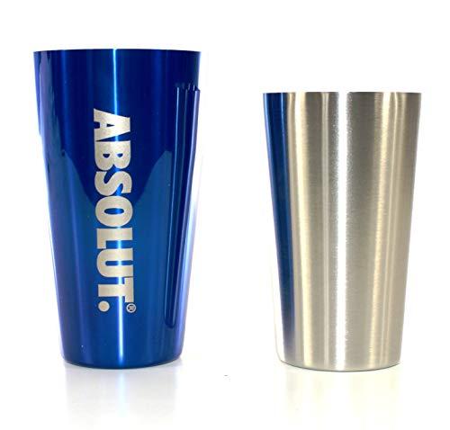 ABSOLUT Vodka Shaker tin/tin Boston 2-teilig Cocktail ~mn 116 0982 -