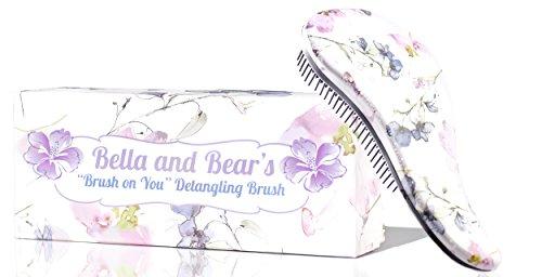 Detangler Bürste von Bella & Bear, die beste entwirrende Haarbürsten für nasses oder trockenes...